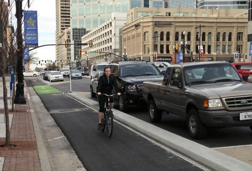 3 MILES City Local Percentage of road miles with bikeways The entire 220-mile recommended bikeway network could be built for the