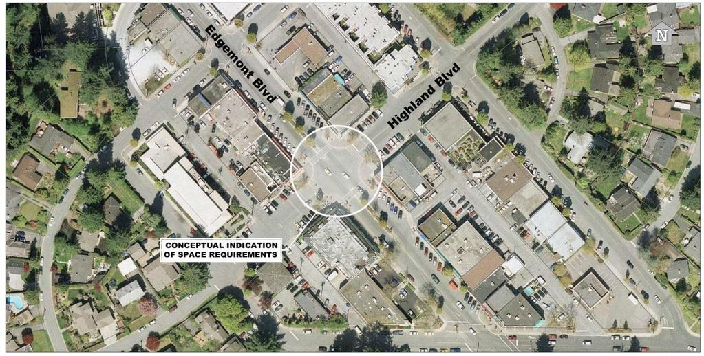 Consider a four-way stop: Installing a four-way stop at this intersection is expected to reduce delay on Highland Boulevard.