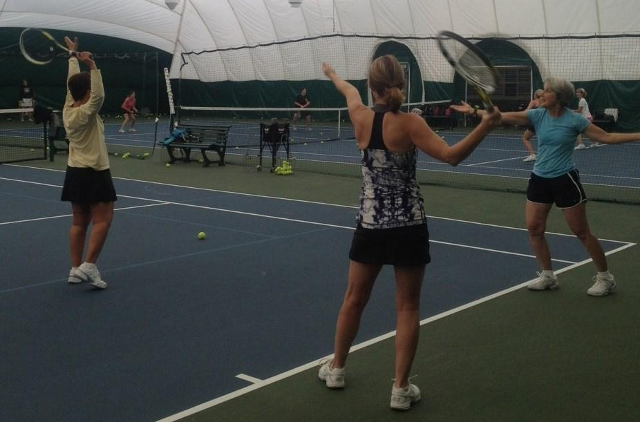 Adult Tennis Instruction Winter 2014 Get in the Game 6 Week Adult Clinic This six-week clinic is designed for both new and former tennis players who have been out of the game for a while.