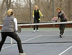 Paddle Tennis Programs 2013-2014 Season Paddle Tennis Program Platform Tennis usually referred to as Paddle Tennis is an American racquet sport which is played outdoors during the fall, winter, and