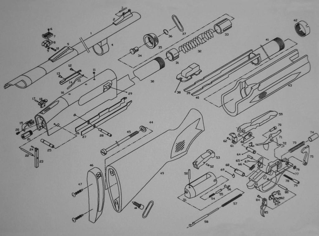 SCHEMATIC ULTRA 87 51006HS Distributed by: Century International Arms, Inc. 430 South Congress Ave.