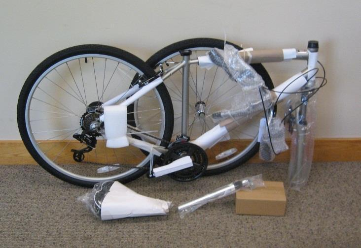 However, for shipping purposes we have to partially disassemble your bicycle. Although this bicycle has been factory pre-assembled, some loosening may have occurred during shipping and handling.