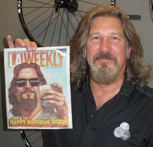 Posing with the Weekly was the spitting image of Lebowski played by none other than Wick. Yes, that s his name. Sort of.