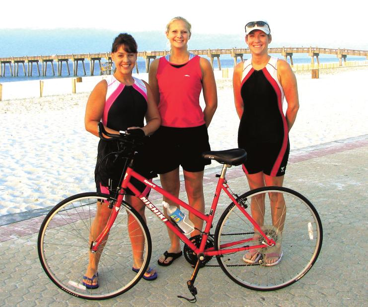 Island Times Volume II, Number 11 Pensacola Beach, Florida September 27, 2006 Tri and Catch Me The Mere Mortals triathlon training group is comprised of dedicated