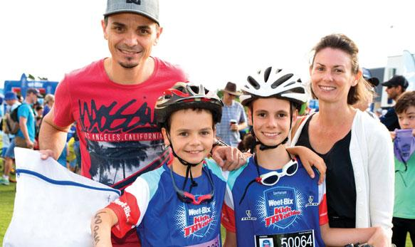Bupa TEAM FAMILY Top TIPS FOR YOUR DAY The Weet-Bix Kids TRY is an exciting day for kids and parents alike.