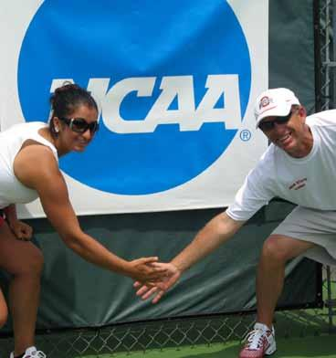 ohio state: then and now Ohio State s women s tennis program has undergone a dramatic improvement under the tutelage of head coach Chuck Merzbacher. Before Merzbacher.