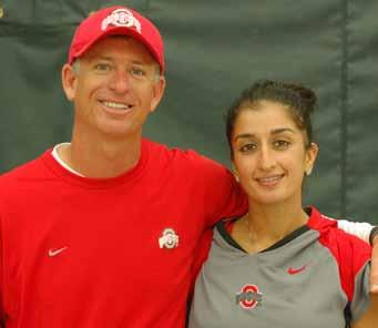 sadhaf Fath assistant COACH Sixth Season ohio STATE 04 Sadhaf Fath (formerly Pervez) is now in her sixth season as an assistant coach at Ohio State.