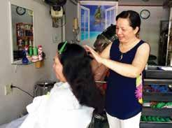Hairdressers and Barbers Provide a good service adopting safe and healthy practices Ensure that chemicals to be used are not dangerous for clients.