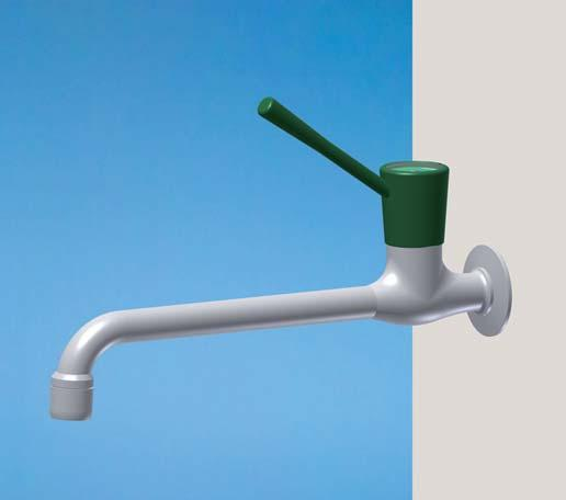 FIXED NOZZLE OUTLET, COMPRESSION WATER - Removeable nozzle 165 5O