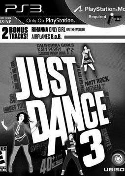 Just Dance 3 upgraded with newer songs
