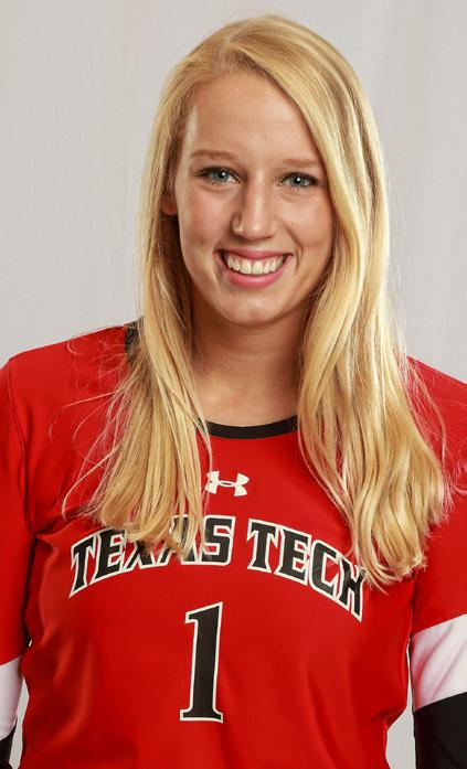 2017 TEXAS TECH VOLLEYBALL RED RAIDER CLASSIC #1 HALEY HARMAN OH/RS 6-1 Freshman Lake Highlands, Texas (Lake Highlands) SEASON / Matches Played (Season) 5 Matches Started (Season) 2 Sets Played