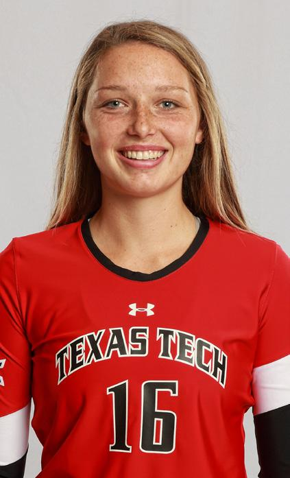 RED RAIDER CLASSIC 2017 TEXAS TECH VOLLEYBALL #16 EMILY HILL OH 6-1 Sophomore Denton, Texas (Guyer / Mississippi State) 2016* 126 32-24 382 3.03 147 1031.228 15 0.12 9 0.07 9 184 1.46 20 11 46 57.0 0.