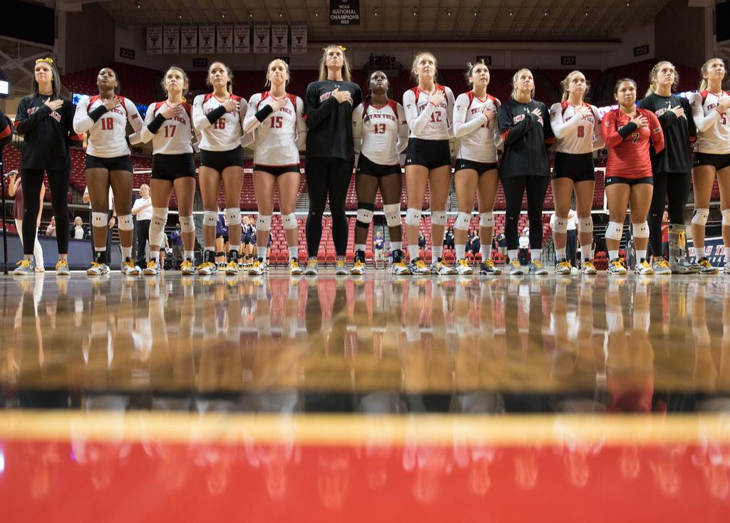 RED RAIDER CLASSIC 2017 TEXAS TECH VOLLEYBALL TOP 10 HOME VOLLEYBALL CROWDS RANK OPPONENT DATE ATTENDANCE 1. Iowa State Nov. 27, 2002 5,507* 2. Georgia Dec. 7, 1991 2,511 3. Texas Oct.