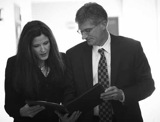 Rockford residents Jim Scales and Andrea Crumback, provide expertise in estate planning, probate, family law, criminal, personal injury, municipal, real estate,