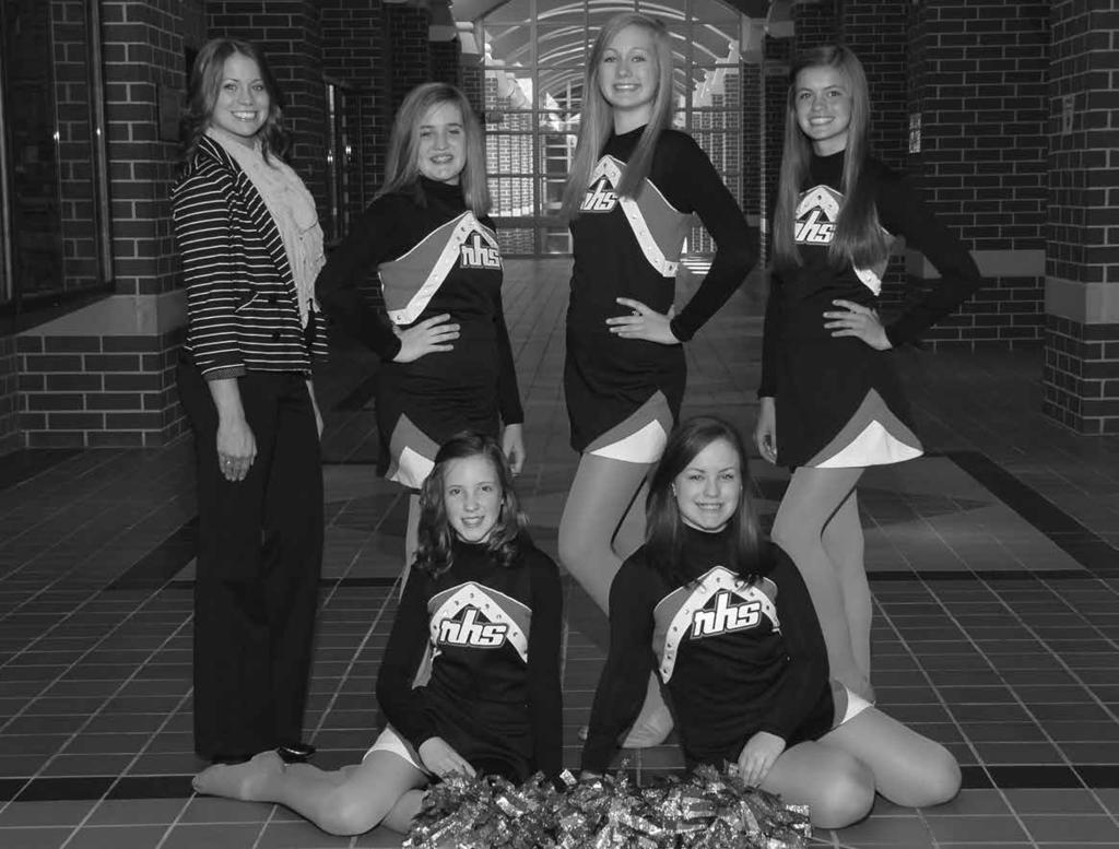 JV DANCE Left to Right: ROW 1: Madeline Konsdorf, Corinne Moore ROW 2: Coach