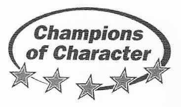 Rockford High School RAM PRIDE MISSION STATEMENT The Champions of Character initiative will create an environment in which every student-athlete, coach, official and spectator is committed to the