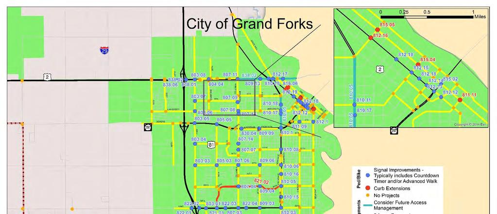 LOCAL ROAD SAFETY PROGRAM JUNE 2014 CHAPTER 4: GRAND FORKS
