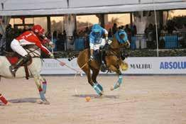 Page 16 gladiator polo Jason Crowder (red), Nic Roldan (teal) In a sixth-chukker surge, Team Spartacus doubled their score and knocked Team Priscus out of the running Friday,