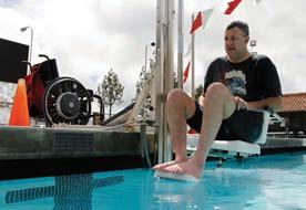 Accessibility of Aquatic Activities for People with Disabilities or Health Conditions For people with disabilities or health conditions, it is becoming easier to access aquatics facilities and