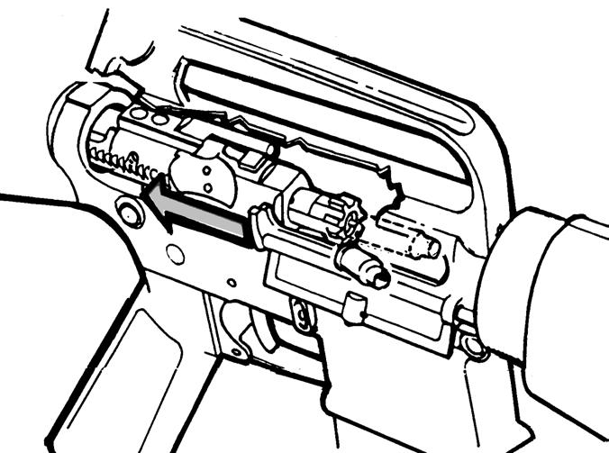 M4 Carbine Parts Diagram