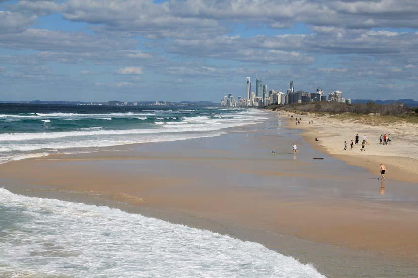 TAB 2 QUESTION - How are Gold Coast visitor trends changing? Detailed information relating to tourism on the Gold Coast and to Australia in general is collected and produced by Tourism Queensland.