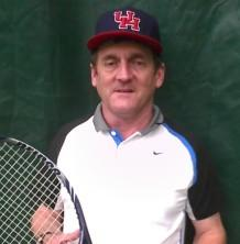 He was the Director of Tennis at River Oaks Tennis Club for 17 years. While he was there, he built an active program filling the18 courts with mixers, tournaments and matches with other clubs.