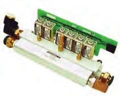 Gas Control Module Tested to 1 x 10-7 cc/sec/atm Helium
