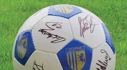 MATCH DAY BALL SPONSOR You and your business can become the official match day ball sponsor for a 2016/17 fixture.