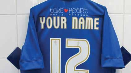 Exclusive behind the scenes tour of MEMS Priestfield Stadium Your own match day squad number Home or away shirt with your name and squad number printed on the back* Presentation photos with the first