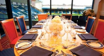 EXECUTIVE BOXES An Executive Box at MEMS Priestfield Stadium offers a luxurious experience, allowing entertainment for up to 10 guests in your own private and exclusive area.