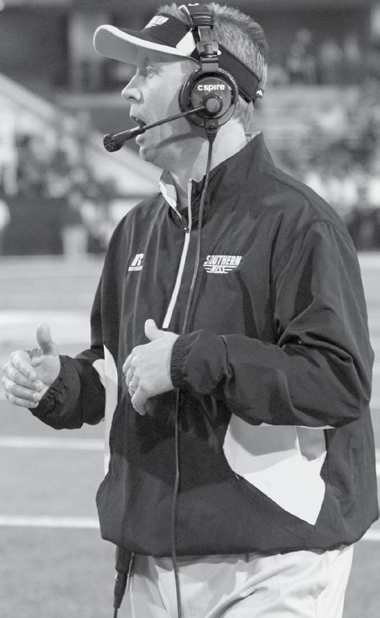 Todd Monken Head Coach Todd Monken was announced as the 20th head coach in Southern Miss history in December of 2012. Monken was charged to turn around a Golden Eagles program.