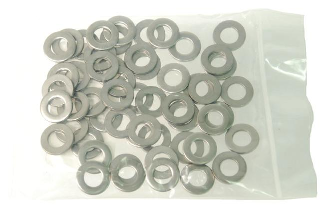 "AN960 MIL SPEC Flat Washers 18-8 Stainless Steel Bolt ""A"" ""B"" ""C"" Order Numbers Size ID OD Thickness 25/bag 50/bag 100/bag Bulk Packed #2.099.250.006-.026 AN960-C2L AN960-C2LBULK #2.099.250.022-."