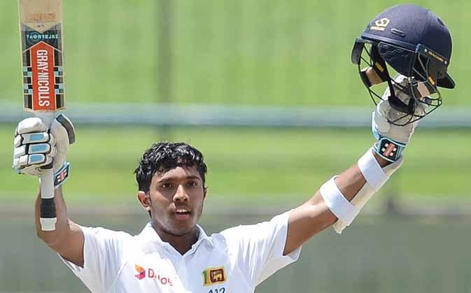 CRICKET 7 1ST TEST/ SRI LANKA vs AUSTRALIA Mendis unbeaten ton revives SL hopes Mendis unbeaten 169 helps Sri Lanka reach 282-6 at close of play on Day 3 of the rain-hit Test, giving them a 196-run