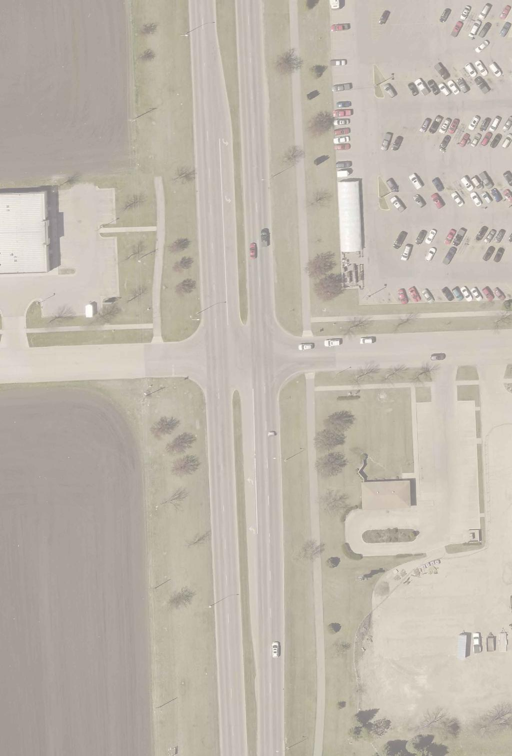 32nd Ave S CITY OF GRAND FORKS ENGINEERING DEPARTMENT 32nd Ave S (Bus US 81) & S 17th St Traffic Signal and Left Turn Lane Realignment S 17th St 187' Matching Existing Taper New Lane Striping New